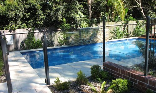 frameless glass fencing and semi frameless pool fence